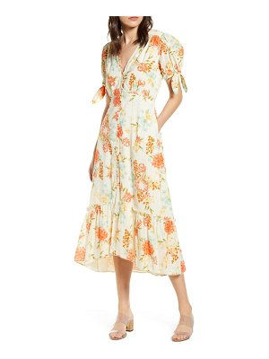 Cleobella junia floral midi dress