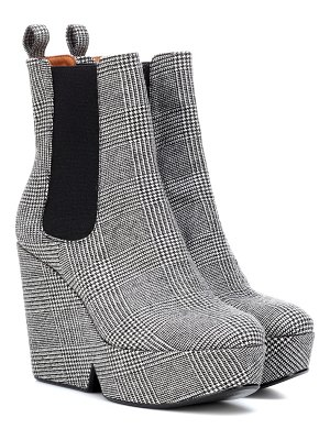 CLERGERIE Exclusive to Mytheresa – Beatrice checked ankle boots