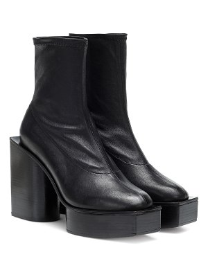 CLERGERIE bonnie leather ankle boots