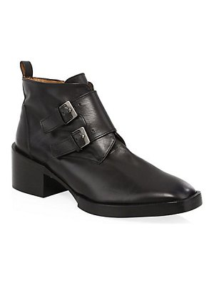 CLERGERIE caius monk-strap booties
