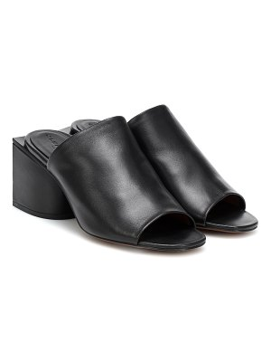 CLERGERIE edith leather mules