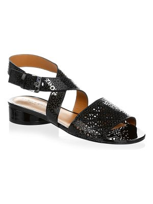 CLERGERIE Fasso Leather Sandals