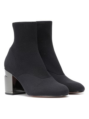 CLERGERIE Keane stretch-knit ankle boots