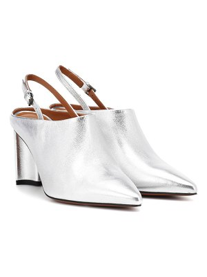 CLERGERIE Exclusive to Mytheresa – Kyra leather slingback mules