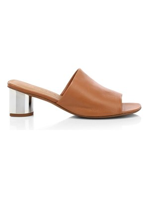 CLERGERIE lea leather mules