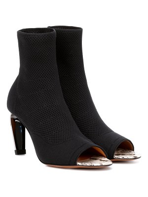 CLERGERIE Mabela knit ankle boots