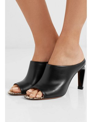 CLERGERIE maevaw leather mules
