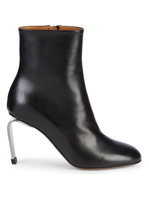 CLERGERIE Maria Leather Booties