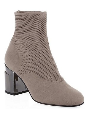 CLERGERIE mesh knit sock booties