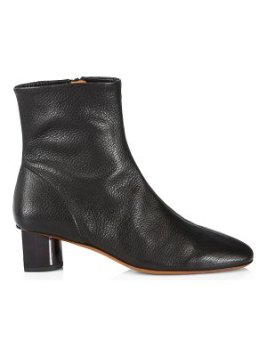 CLERGERIE pola leather ankle boots