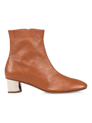 CLERGERIE pola leather booties