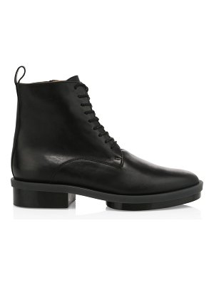 CLERGERIE radio lace-up leather combat boots