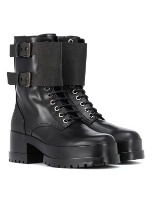 CLERGERIE Willy leather ankle boots