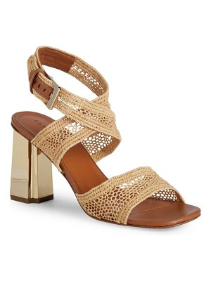 CLERGERIE Woven Ankle-Strap Sandals