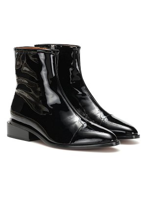 CLERGERIE xaviere patent leather ankle boots