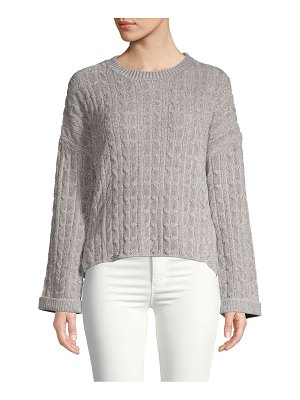 Clich Cable Chenille Sweater