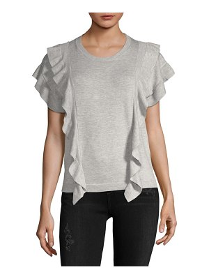 Clich Side Ruffle Top