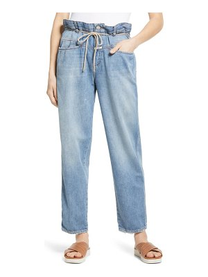 Closed anni paperbag high waist straight leg jeans