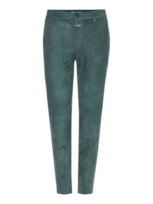 Closed Jack suede trousers