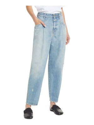 Closed relaxed tapered leg organic cotton jeans