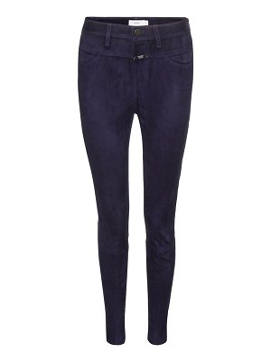 Closed Skinny Pusher suede trousers