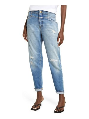 Closed x-lent relaxed tapered leg ankle jeans