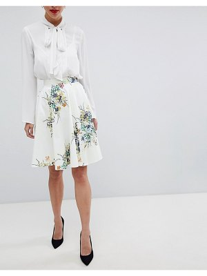 Closet London closet floral skirt