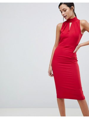 Closet London closet halter neck dress