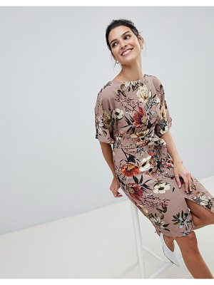 Closet London closet mid split dress