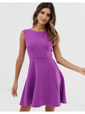 Closet London closet ponte a-line dress