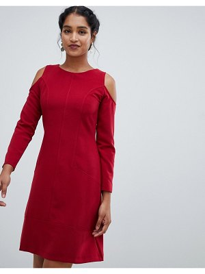 Closet London cold shoulder a line dress
