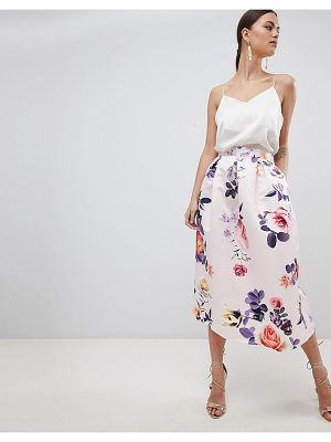 Closet London floral skirt