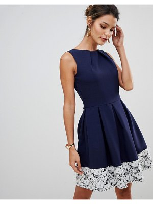 Closet London lace skater dress