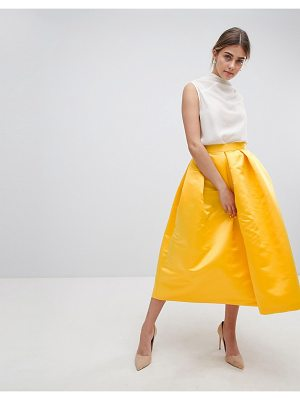 Closet London london full prom sateen midi skirt