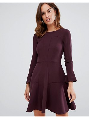 Closet London pannelled skater dress