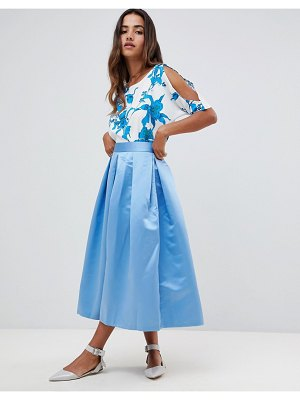 Closet London pleated midi skirt