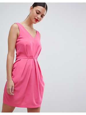 Closet London pleated sleeveless dress