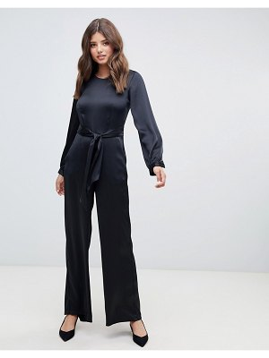 Closet London puff sleeve jumpsuit