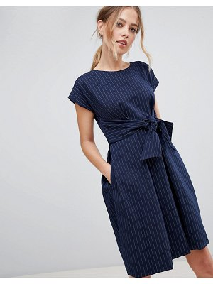 Closet London Tie Waist Dress