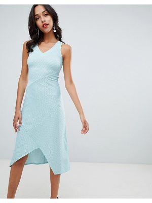 Closet London v neck midi dress