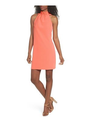 CLOVER AND SLOANE halter shift dress