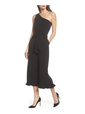 CLOVER AND SLOANE one-shoulder jumpsuit