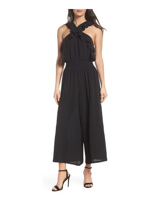 CLOVER AND SLOANE ruffle jumpsuit