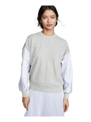 Clu dolman sleeve pullover with stripes