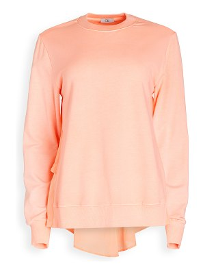 Clu ruffled back pullover