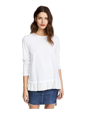 Clu too ruffled top