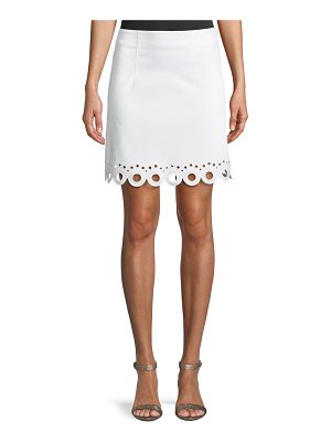 Club Monaco Akemi Scalloped Eyelet Skirt
