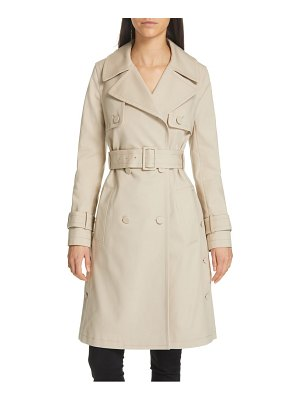 Club Monaco janney belted trench coat