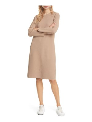 Club Monaco long sleeve ribbed sweater dress