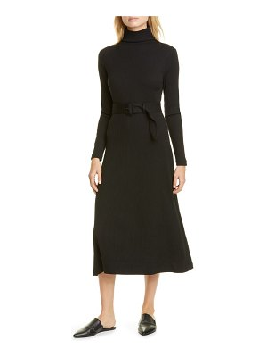 Club Monaco melissah knit long sleeve midi dress